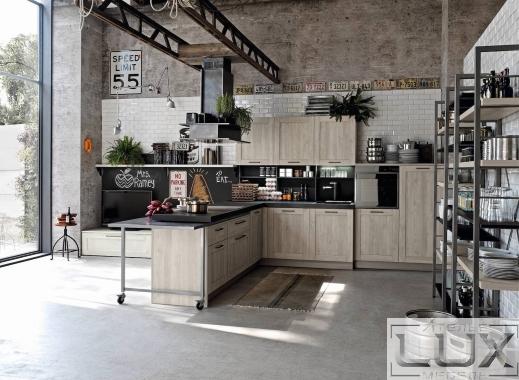 Кухня лофт Онда