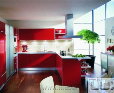 П-образные кухни