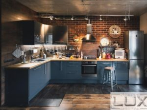 Лофт кухни