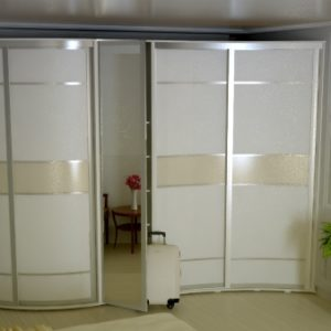 Радиусные шкафы